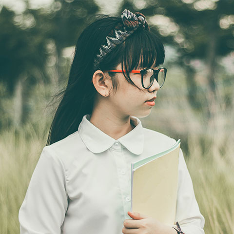 photo of a girl